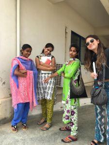 Pavani, Shivu, Swathi, and Maddie.